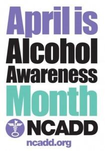 Alcohol Awareness Month poster